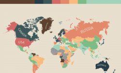 生活費が高い国ランキング