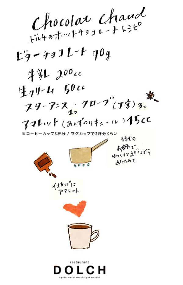 おやすみ前のホットチョコレートレシピ