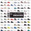 人気スニーカーの歴史。流行りの靴をまとめた134足