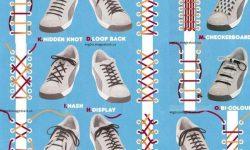 靴紐の結び方15種