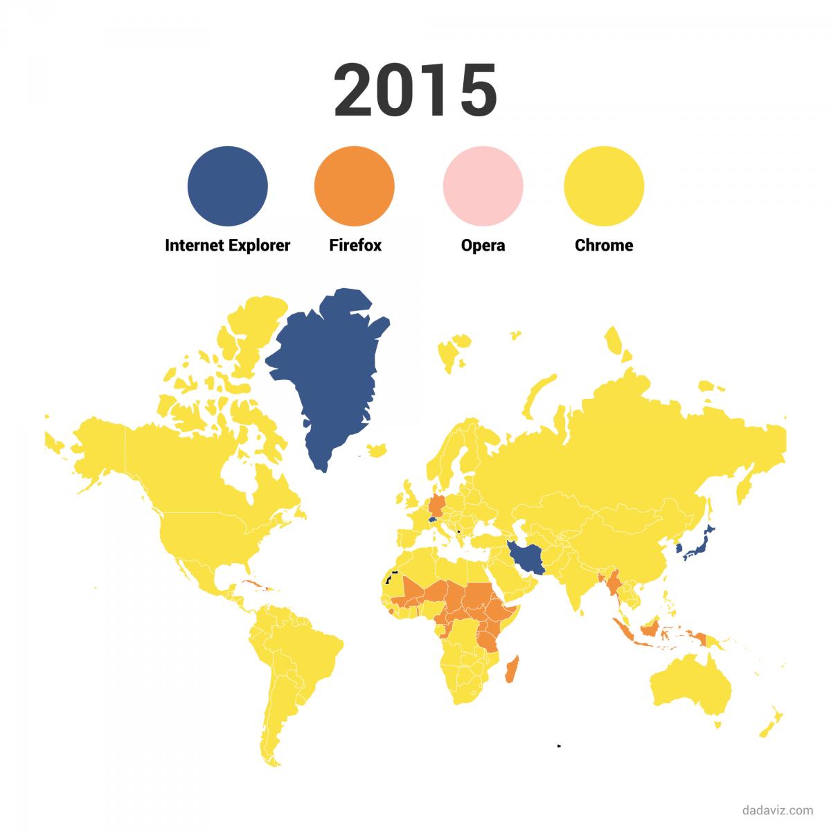 インフォグラフィック:マイクロソフトの刺客Edge(エッジ)。WEBブラウザ戦国時代に突入2015年