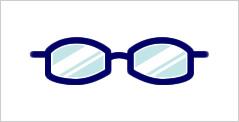 代表的なメガネフレーム:バレル型