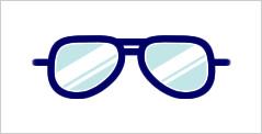 代表的なメガネフレーム:オート型