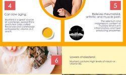 マスタードの健康上の利点